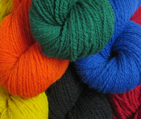Greener Shades Dye Yarn Colors