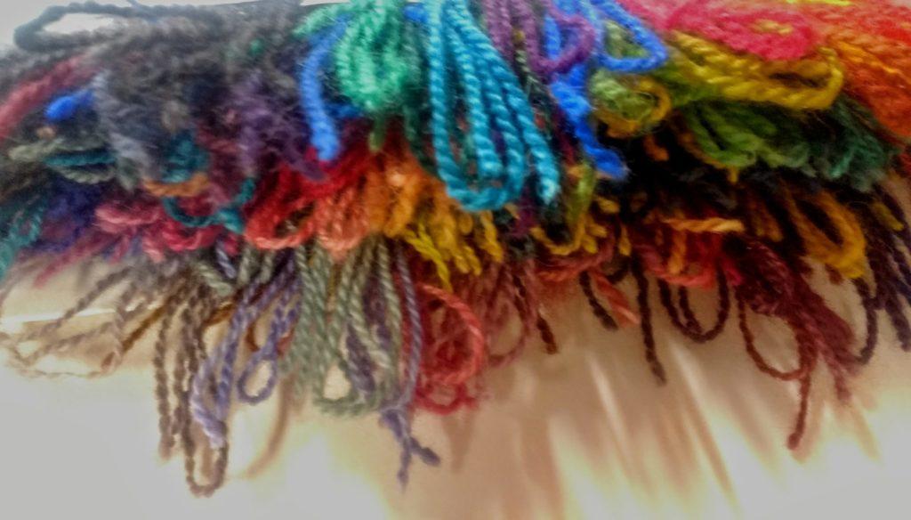 Greener Shades Yarn Samples